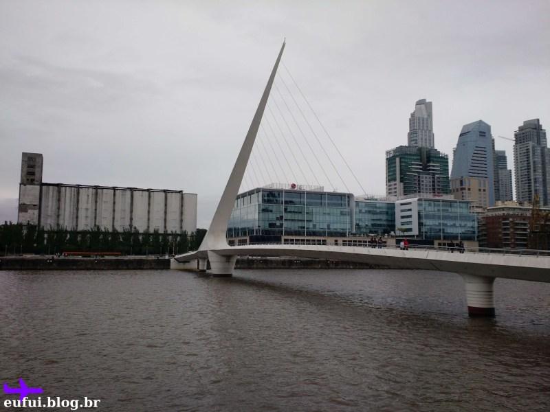 puerto madero puente de la mujer