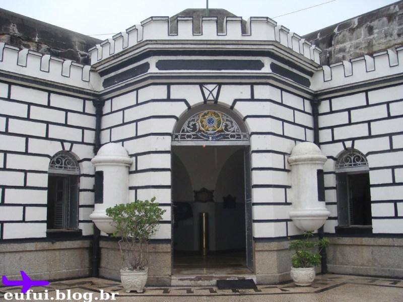 forte de copacabana portao interno museu