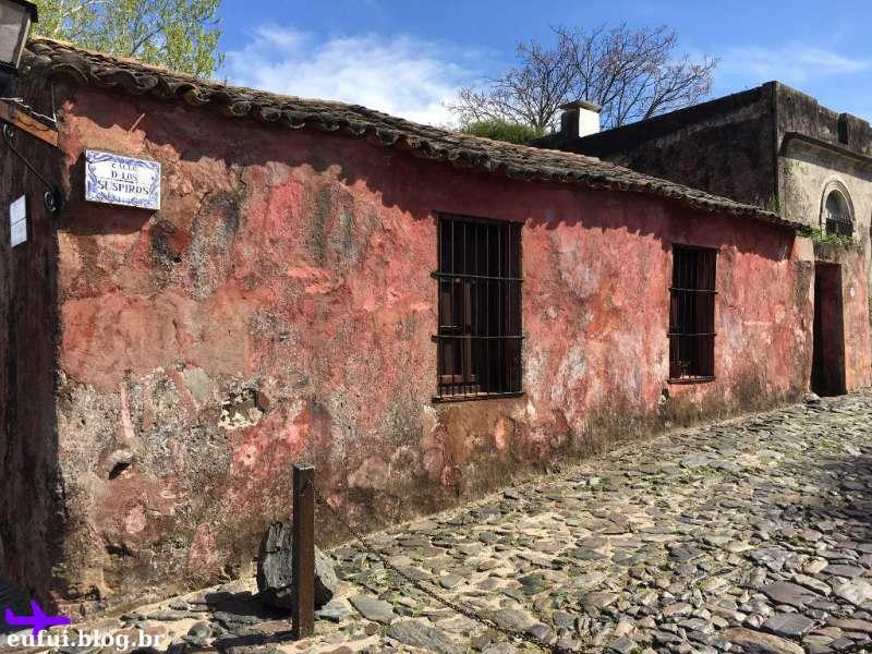 colonia del sacramento calle de los suspiros uruguai