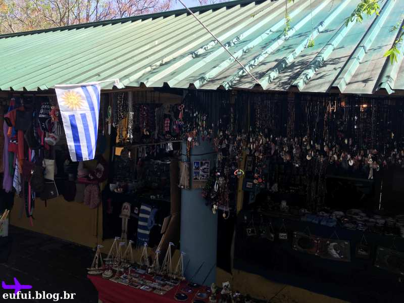 colonia del sacramento uruguai feirinha artesanato barraca