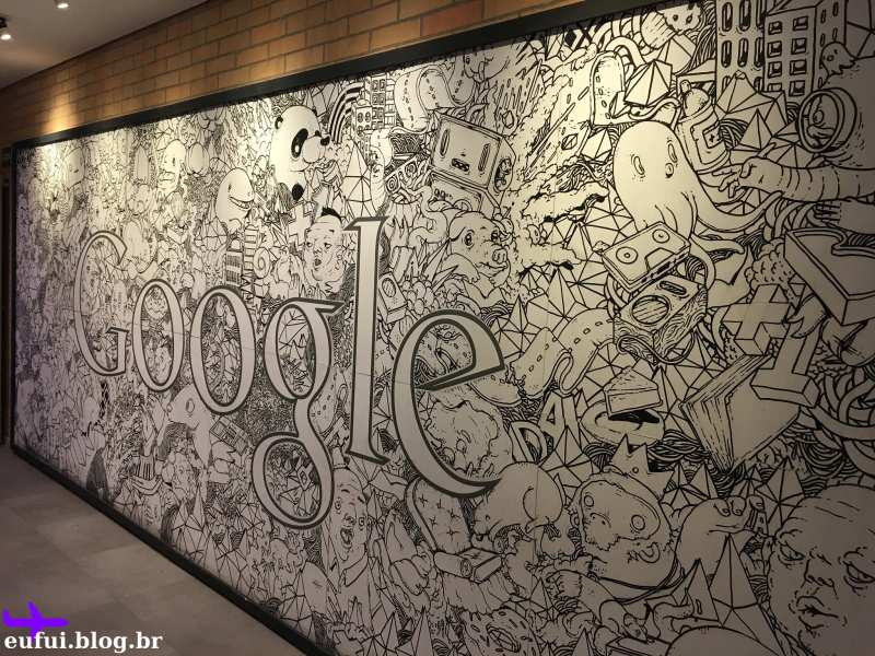 escritório do google são paulo parede