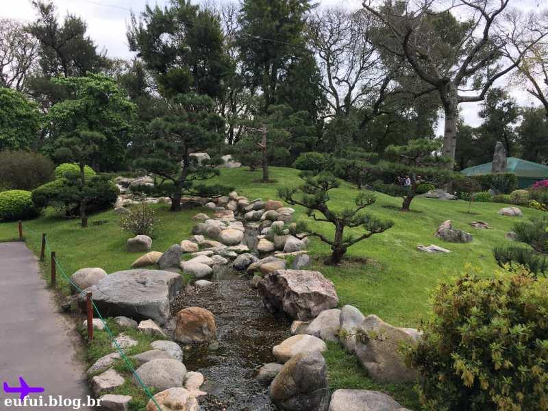 Jardim Japones de Buenos Aires arvores