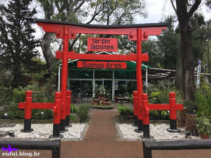 Jardim Japones de Buenos Aires entrada