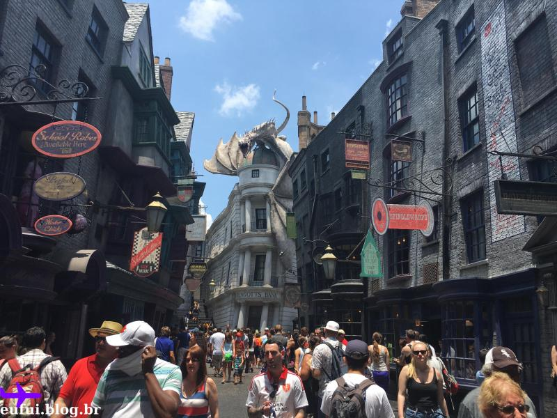 universal studios beco diagonal harry potter