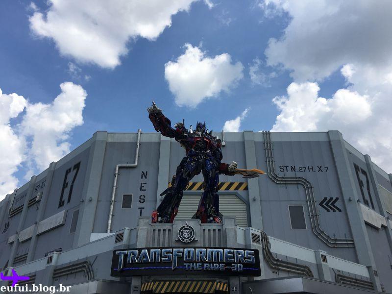 parques universal studios transformers