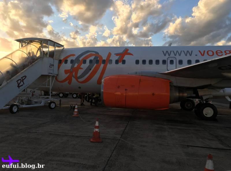 Gol para Foz do Iguaçu - Avião