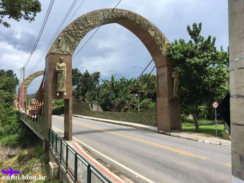 Um dos Portais de Entrada de Guararema no Interior de São Paulo
