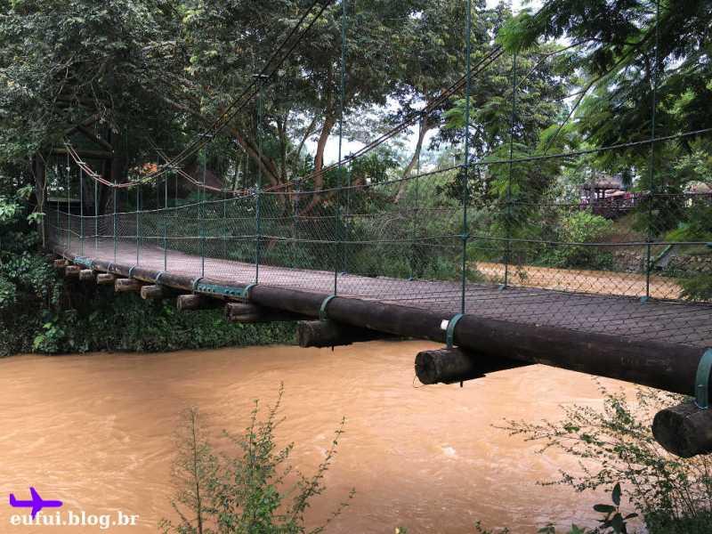 Recanto do Américo em Guararema - Ponte sobre o Rio Paraíba do Sul