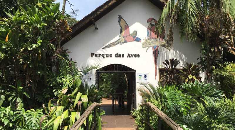 Entrada do Parque das Aves em Foz do Iguaçu