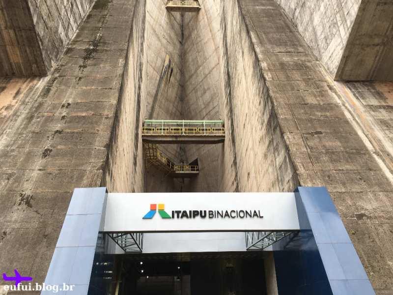 Circuito Especial e Visita Panorâmica - Entrada da Usina de Itaipu