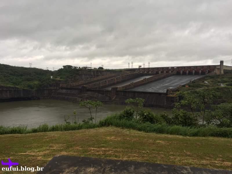 Circuito Especial em Itaipu - Foz do Iguaçu - Vertedouros