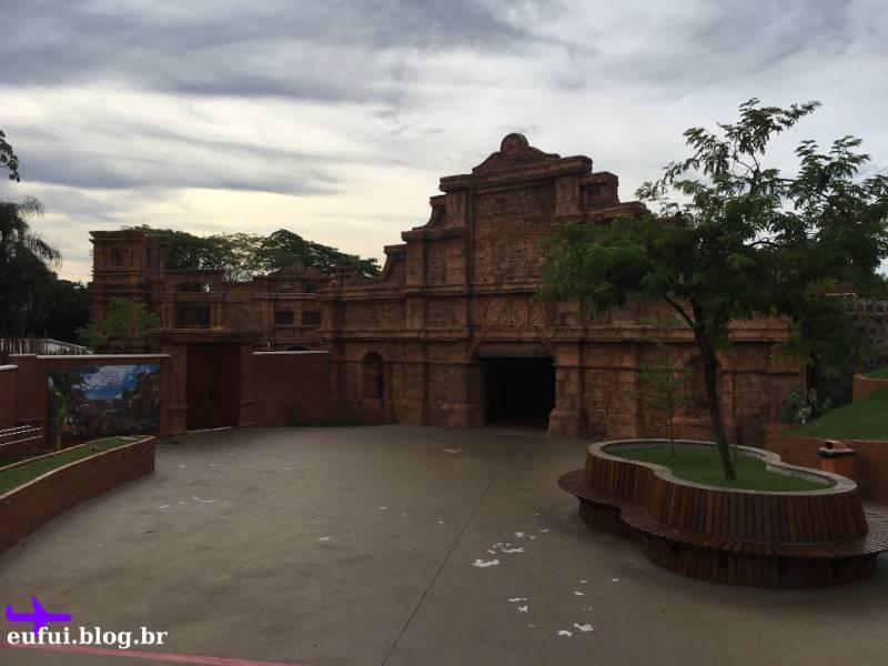 Entrada e Centro de Visitantes do Marco das Três Fronteiras em Foz do Iguaçu