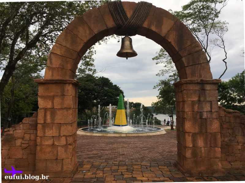 Marco das Três Fronteiras - Sino - Foz do Iguaçu