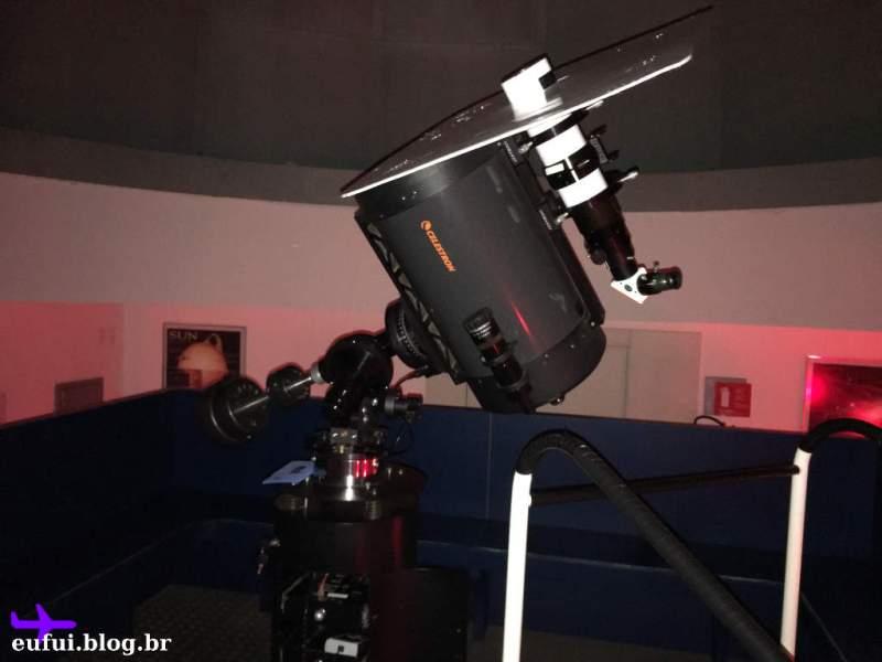 Telescópio do Polo Astronômico de Itaipu em Foz do Iguaçu