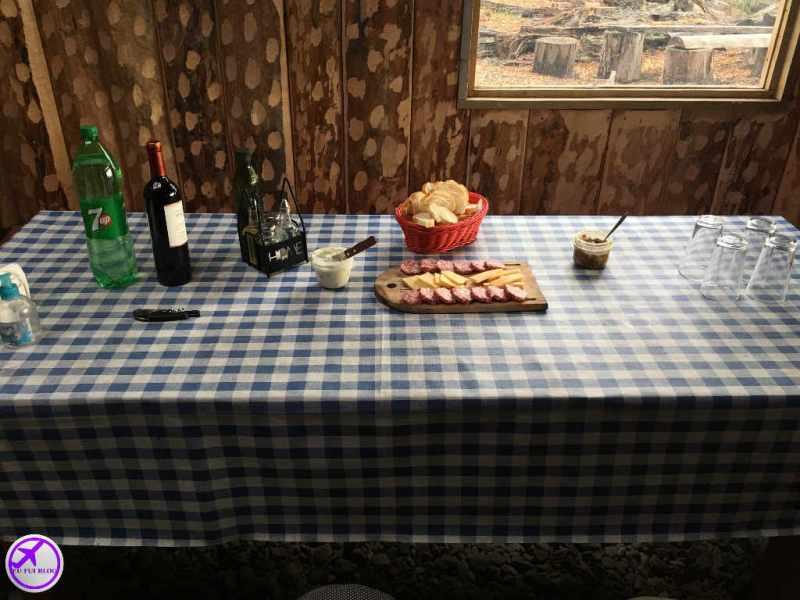 4x4 em Ushuaia - Almoço - Petiscos