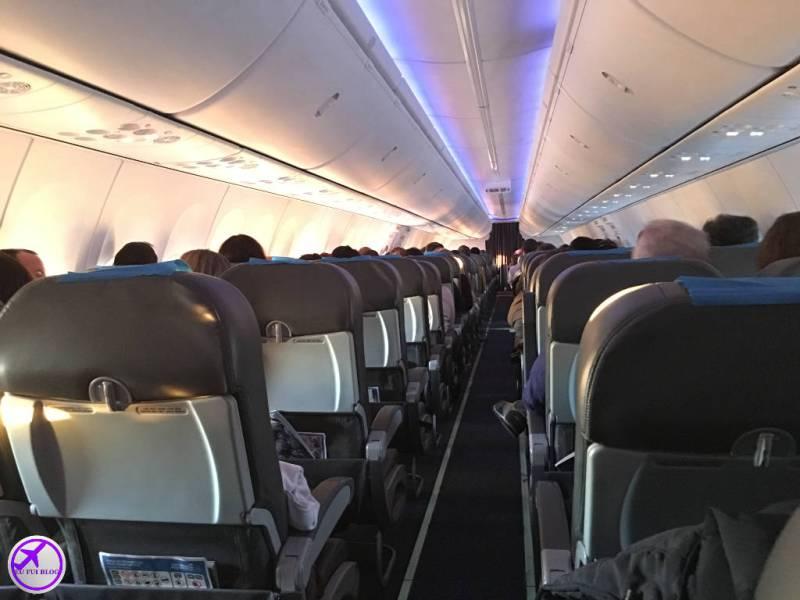 Aerolineas Aegentinas foto interior avião