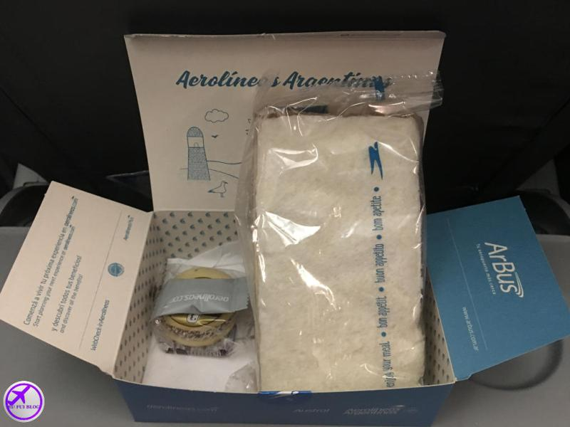 Aerolineas Argentinas - Serviço de Bordo Lanches