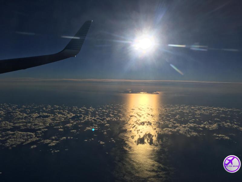 Voando com a Aerolineas Argentinas de Buenos Aires para Ushuaia