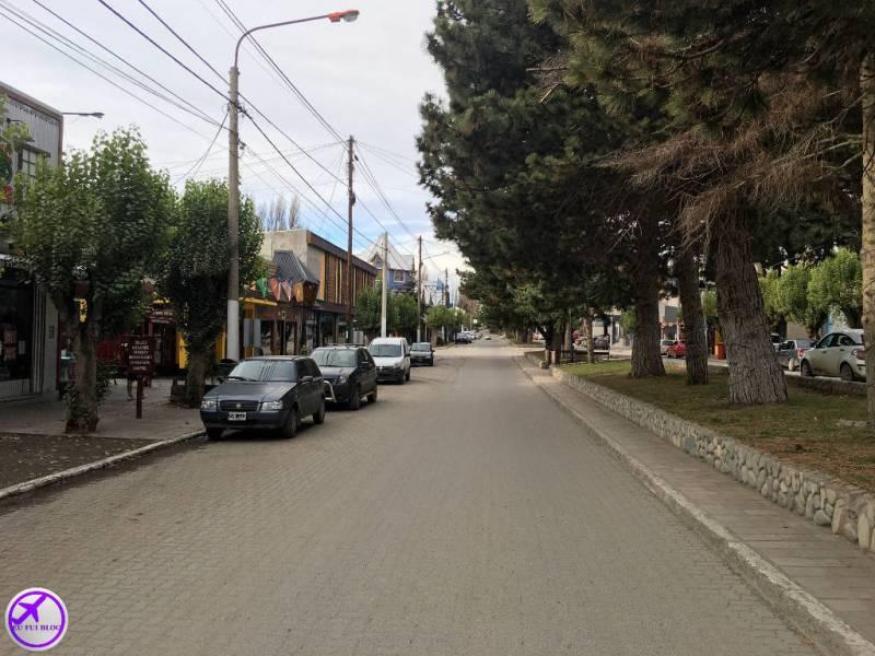 Avenida San Martin em El Calafate - Argentina