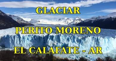 Glaciar Perito Moreno em El Calafate - Argentina