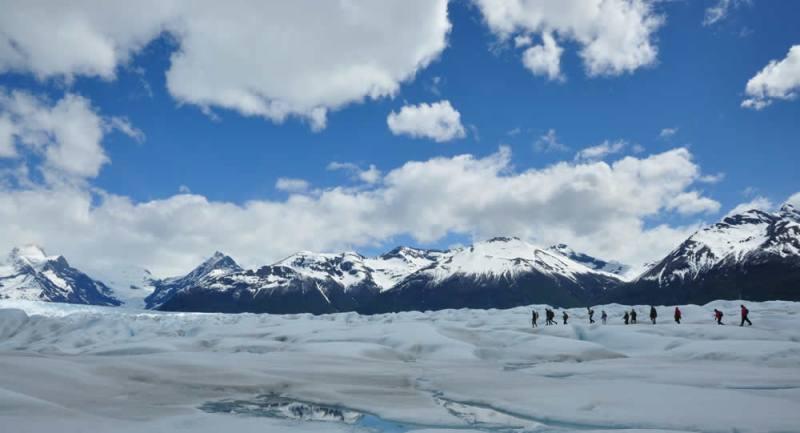 Big Ice no Glaciar Perito Moreno em El Calafate - Argentina