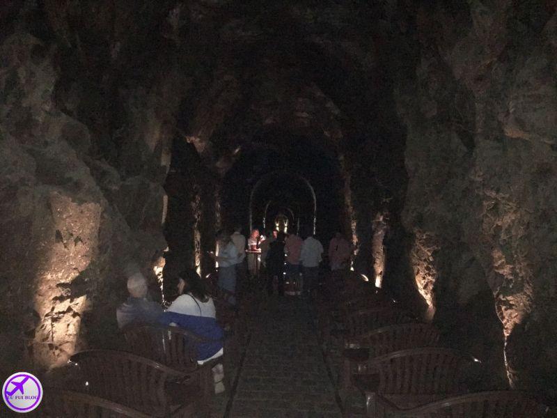 Explicação sobre Espumantes na Cave Colinas de Pedra - Piraquara - Grande Curitiba - Paraná