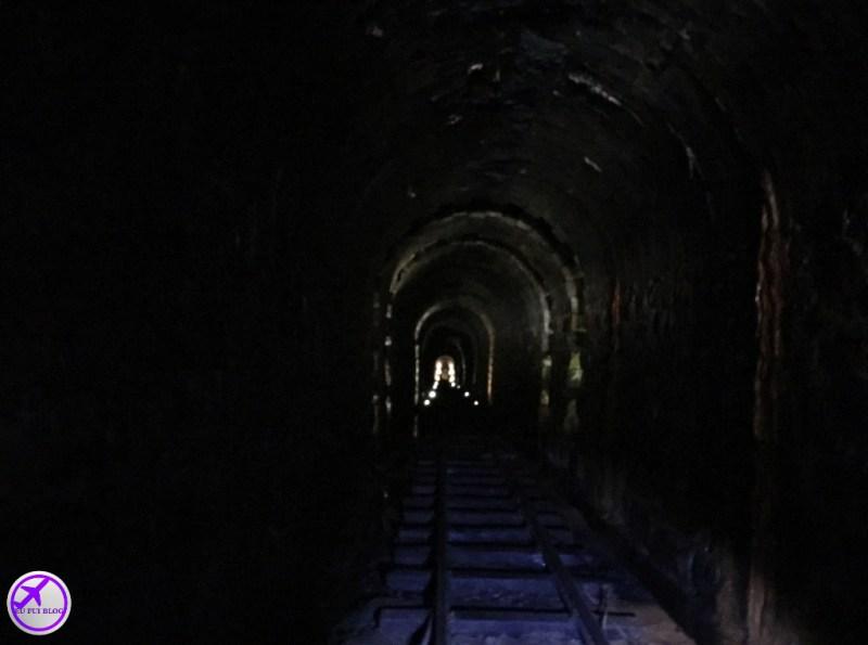 Tunel da Cave Colinas de Pedra em Piraquara - Grande Curitiba - Paraná