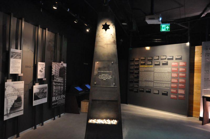 Homenagem no Museu do Holocausto de Curitiba - Paraná