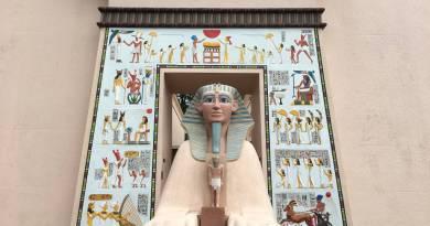 Esfinge no Museu Egípcio de Curitiba - Paraná