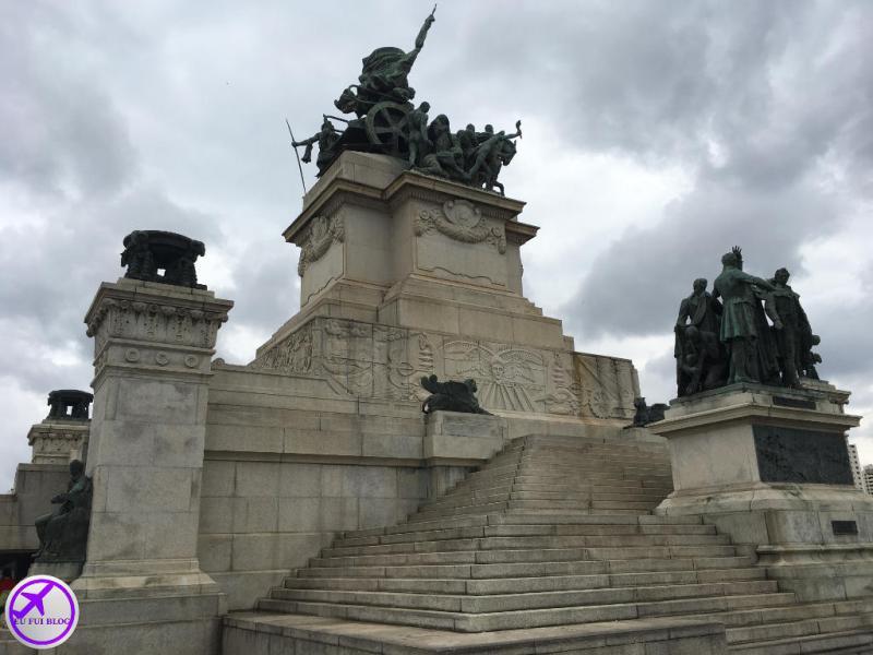 Monumento à Independência no Parque da Independência em São Paulo