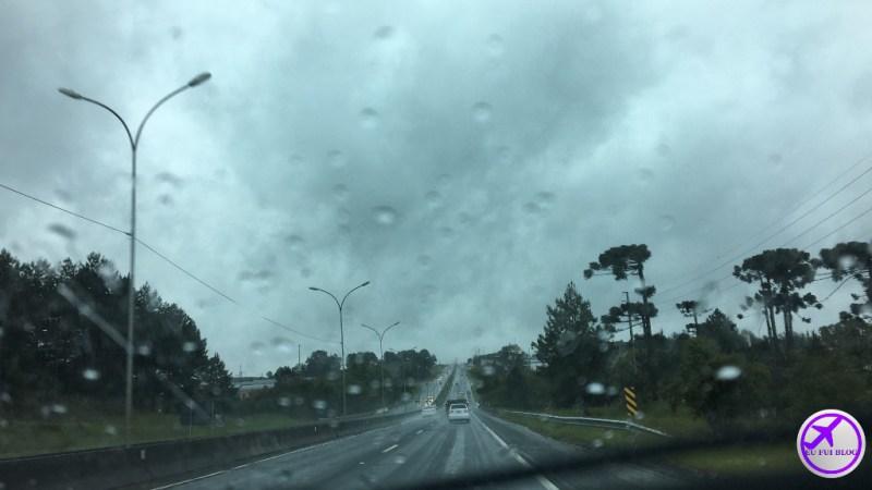 Road Trip - São Paulo para Curitiba - Estrada com Chuva