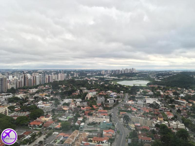 Vista da Torre Panorâmica de Curitiba - Paraná