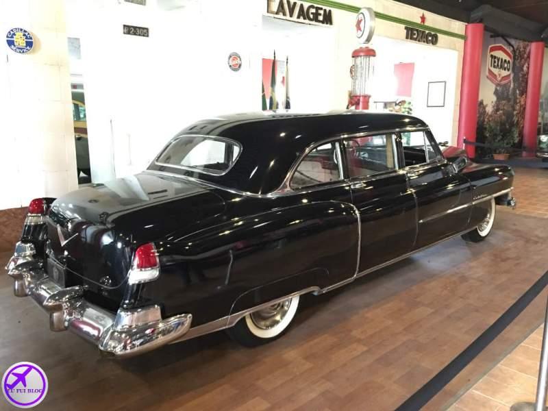 Decoração do Museu do Automóvel de Curitiba - Paraná