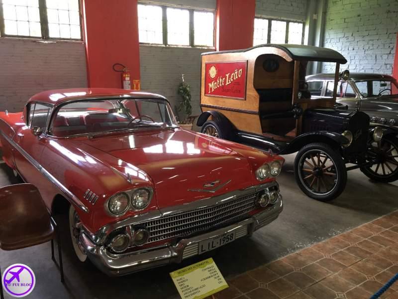 Ford T 1919 no Museu do Automóvel de Curitiba - Paraná