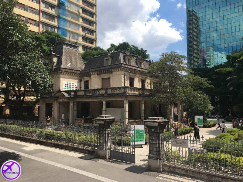 Casa das Rosas na Avenida Paulista - parada do Circular Turismo em São Paulo