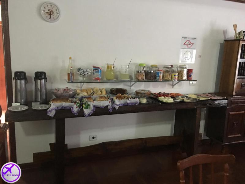 Café da Manhã na Pousada Portal de Campos em Campos do Jordão