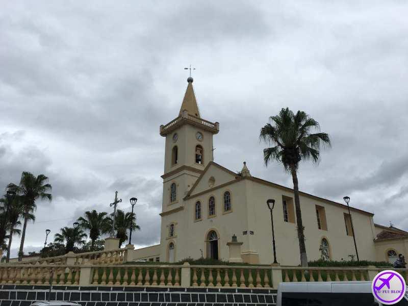 Igreja da Matriz - Trem para Morretes e Antonina em Curitiba - Paraná