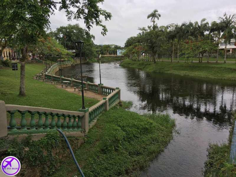 Rio Nhundiaquara no Trem de Morretes e Antonina em Curitiba - Paraná