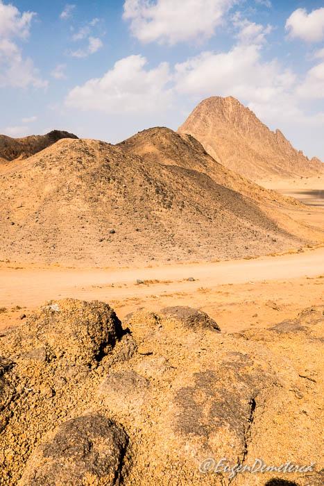 Pamantul arid al Egiptului