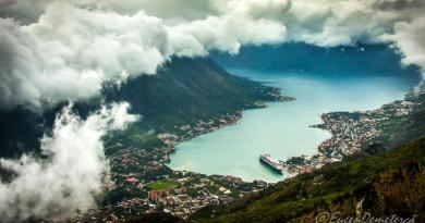 Golful Kotor coperta - Călătoria, cea mai bună alegere pentru dezvoltare personală