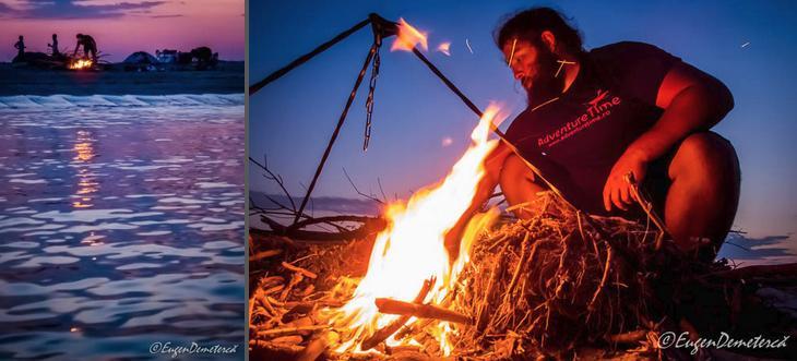 15 foc Delta 1 - Cu caiacul, din Deltă până la mare