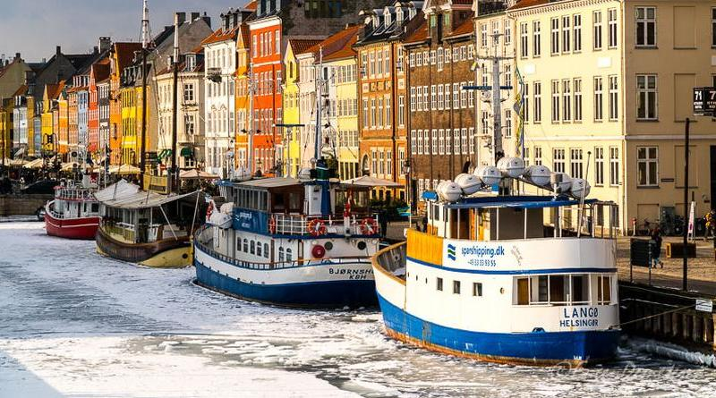 Copenhaga - Copenhaga, printre nămeți primăvărateci