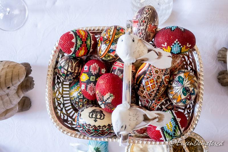 Cos cu oua de Paste - Paştele Regal la Săvârşin