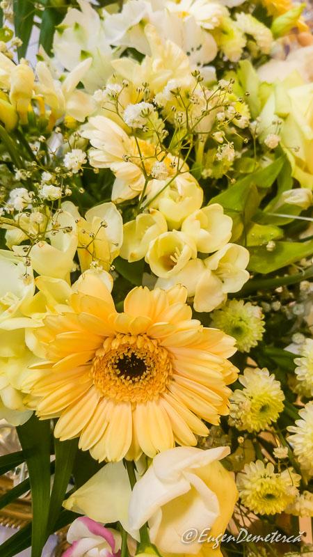 Flori pe masa de Paste - Paştele Regal la Săvârşin