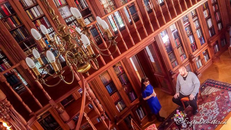 Inainte de interviu la palatul Savarsin - Paştele Regal la Săvârşin