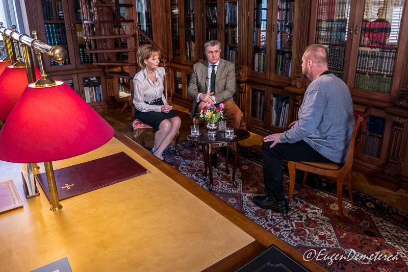 Interviu cu familia regala la Savarsin - Paştele Regal la Săvârşin