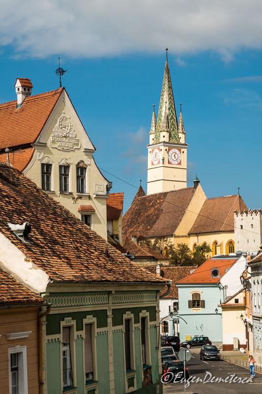 1160877 - Mediaş: perla ascunsă a colinelor Transilvaniei