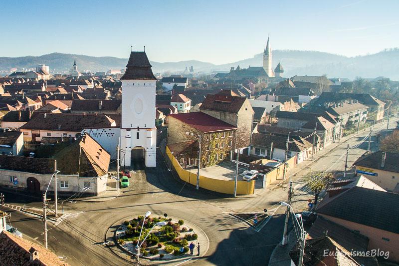 DJI 0459 - Mediaş: perla ascunsă a colinelor Transilvaniei