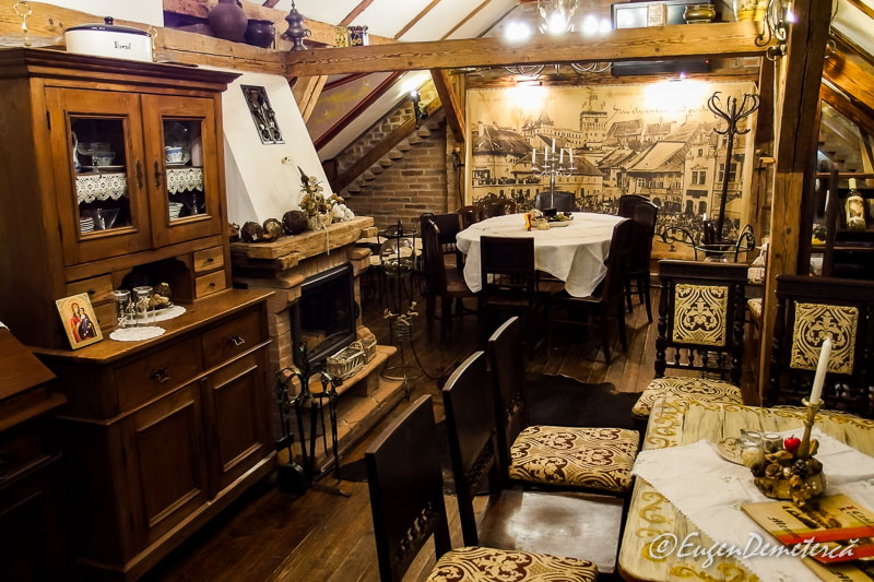 Restaurant in Sighisoara