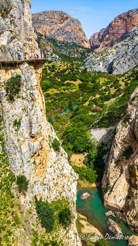 Caminito del rey - drumul aflat la sute de metri inaltime